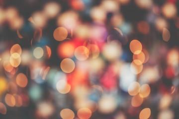 Background of beautiful bokeh lights
