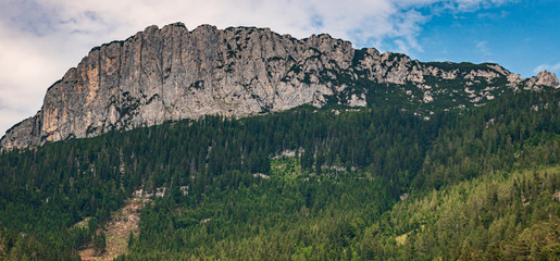Beautiful alpine view near Waidring, Tyrol, Austria