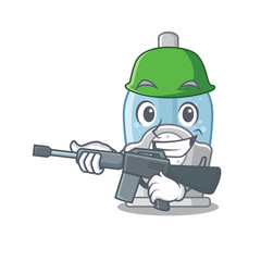 Tuinposter Robots Army humidifier isolated with in the mascot
