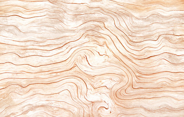 Wood line  wave texture in horizontal shaped patterns for nature background