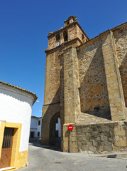 Church of Our Lady of Consolation (Nuestra Señora de la Consolación) in Arroyomolinos, a village in the province of Caceres Extremadura Spain