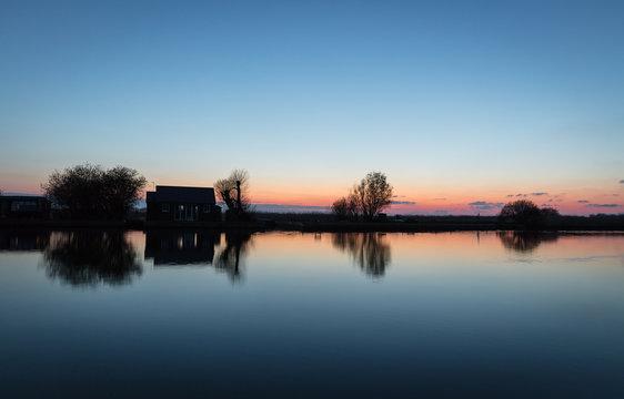 Thurne River, Norfolk, England