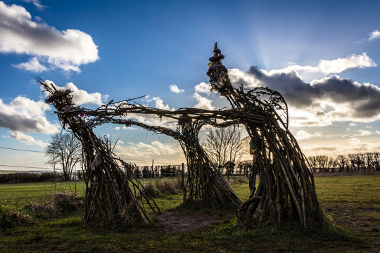 Dancing Fairies, Rollright, Oxfordshire, England