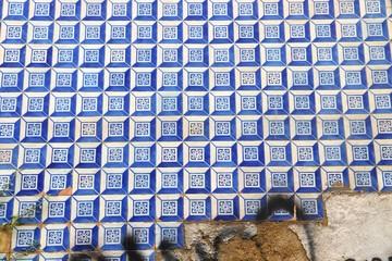 Lisbon blue tiles