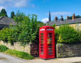 Defibrillator in red telephone box in the UK