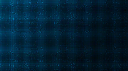 Dark Blue Circuit Microchip Technology on Future Background,Hi-tech Digital and Communication Concept design,Free Space For text in put,Vector illustration.