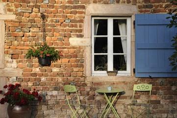 Façade d'une ancienne maison Provençale.