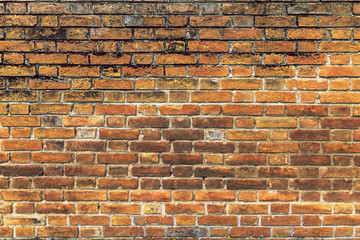 Wall Mural - Old brick wall background