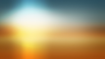 gradient sun background abstract design, illustration website.