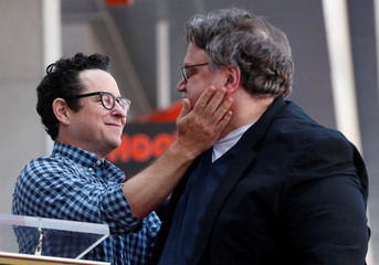 Guillermo del Toro receives a star on the Hollywood Walk of Fame in Los Angeles