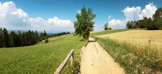 Góry Gorce w Polsce