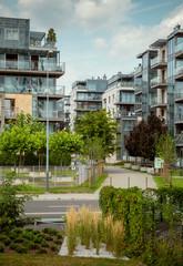 Modern luxury settlement in Poland