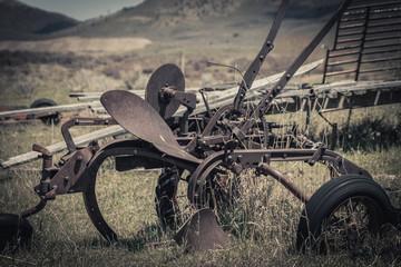Rusty Vintage Horse Drawn Plow