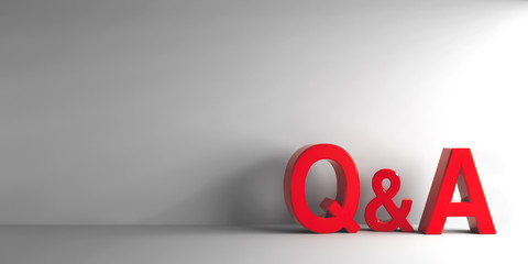 Red letters Q&A