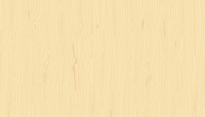 Light wood texture. Vector wooden background. Hand drawn grained pattern