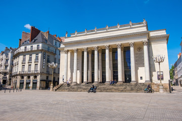 Theatre Graslin is a theatre and opera house in the city of Nantes, France