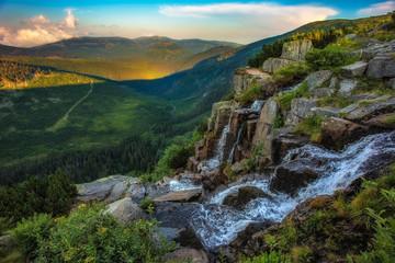 Obraz Karkonosze - Sudety Mountains - fototapety do salonu