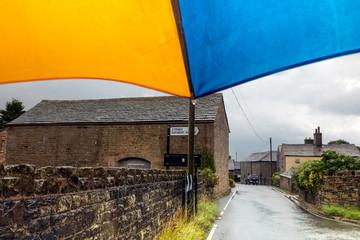 Umbrella for the rain in the UK Summer
