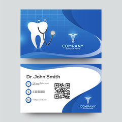 Abstract Dental template for card design. Dental, dentist office, Business card design.