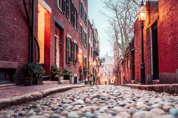 Boston's Acorn Street