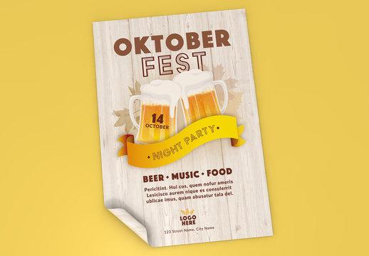 Oktoberfest Event Poster Layout