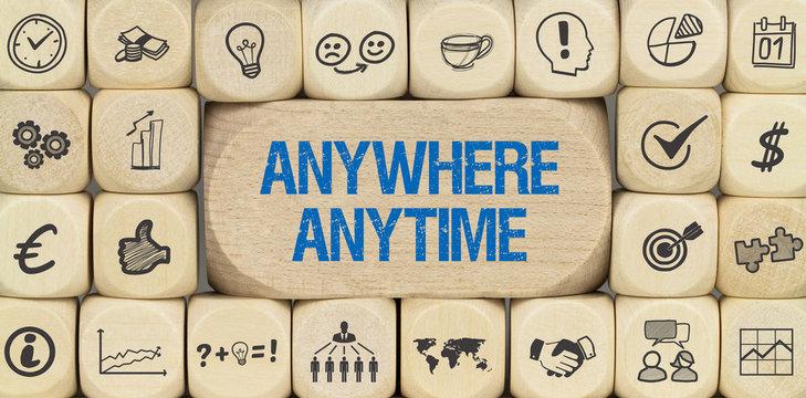 Anywhere, anytime