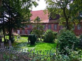 Friedhof am Kloster in Uetersen (Schleswig-Holstein)