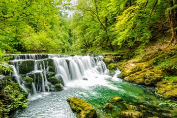 Wasserfall in der Franche Comté