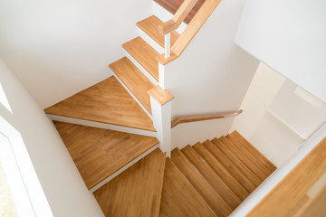 Pattern of Wooden stairs. Fototapete