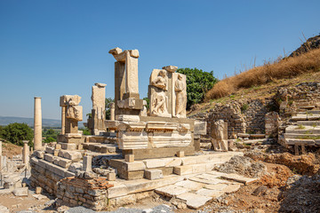 Ruins of the ancient city Ephesus