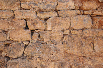 Old grungy stone wall