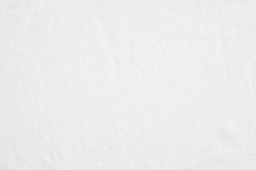 Closeup white blank thin paper texture background.
