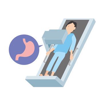 胃部X線検査 健康診断 レントゲン検査