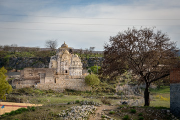 The temples are considered to be the second most sacred site in the historic Punjab region in Pakistan