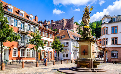 old town of heidelberg in germany Wall mural