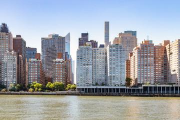 New York City skyline with the buildings of Midtown Manhattan