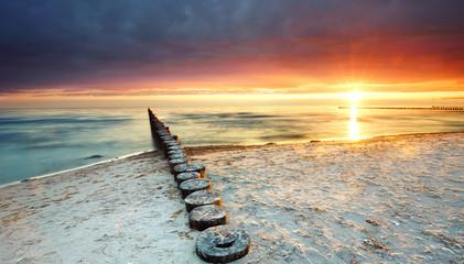 Wall Mural - Sommer am Meer