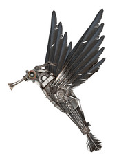 Steampunk style colibr