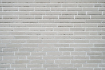 gray clinker brick wall background - modern building exterior with brick slip cladding