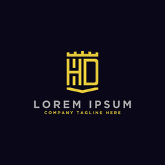 Inspiring logo designs for companies from initial letters HD logo icons. -Vectors