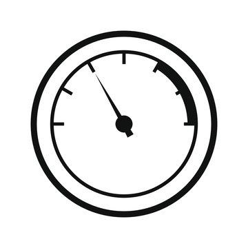 Speedometers icon. Energy meter icon, Vector illustration