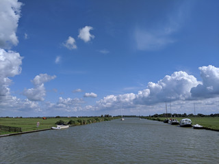 Canal in Friesland