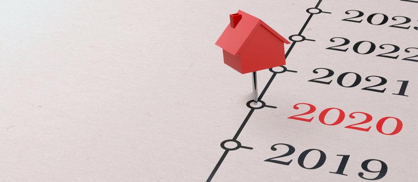 2020 - Zeit um eine Immobilie zu kaufen