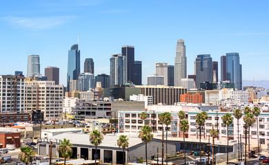 Downtown Skyline Los Angeles, California