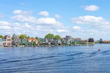 Zaandijk town in Zaanstad, province of North Holland, Netherlands