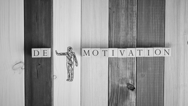 Changing the word Demotivation in to Motivation