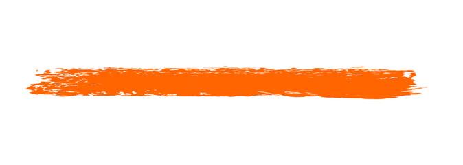 Hintergrund Markierung rot orange - gemalt mit einem Pinsel