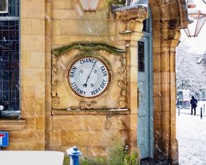 Foto op Aluminium Imagination old clock