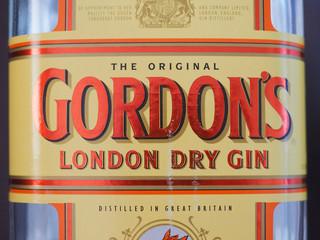 LONDON, UK - CIRCA FEBRUARY 2018: Gordon London Dry Gin