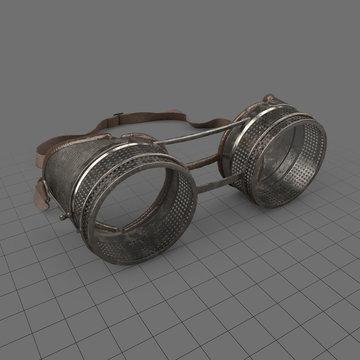 Antique steampunk goggles 4